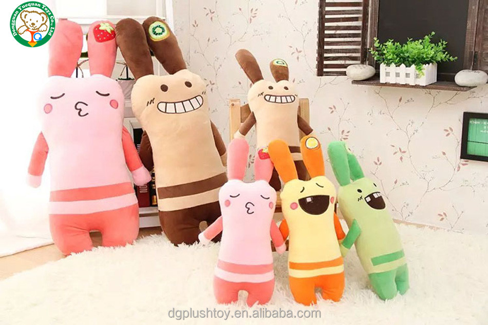 New design rabbit toy plush soft bunny stuffed toys for gift