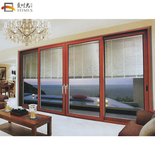 High quality design 4 panel aluminium frosted glass sliding closet doors