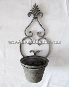 110324fd Wall Mounted Metal Plant Holder Wall Planter Buy Metal