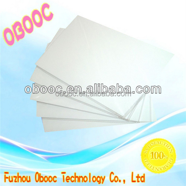 2016 Cheapest white eco solvent heat transfer paper sheets