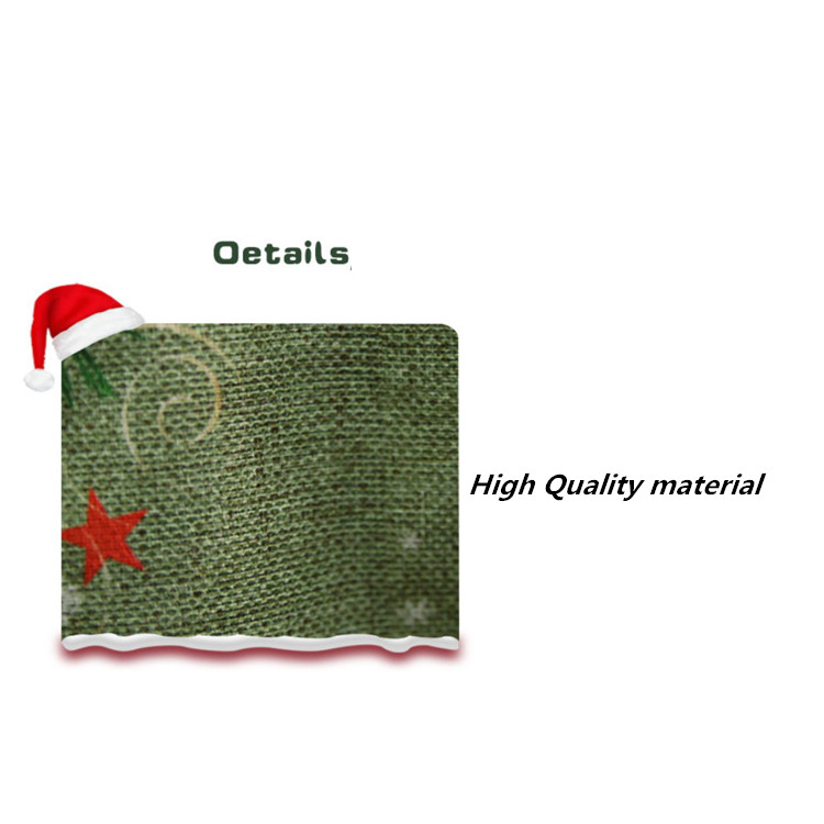 Wholesale fashion Christmas decorations big socks gift bag candy socks