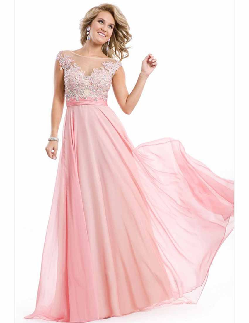 Get Quotations · Pink Long Dress Party Evening Elegant Evening Gowns  Abendkleider Robe De Soiree Vestido Formatura b5975043ccfc