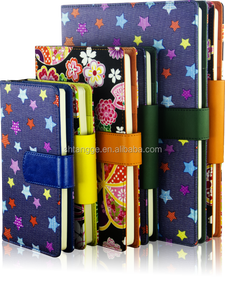project tango fabric covered notebook custom