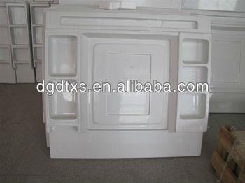 Custom Vacuum Forming Plastic Bathroom Products/cabinet