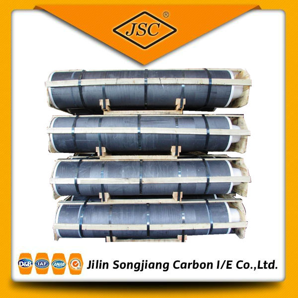 DIA200mm RP grade Graphite Electrode for arc furnace LF EAF