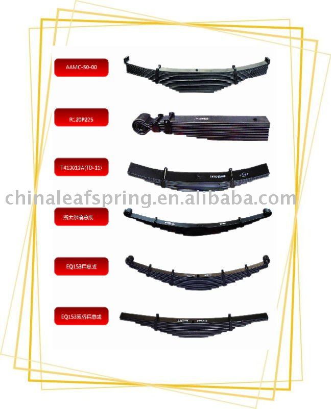 trailer leaf spring assembly truck parts