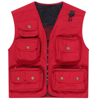 High quality custom multi pocket vest hunting clothes wholesale