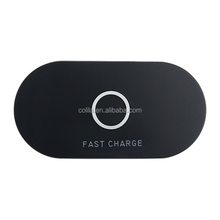 Newest 5V 2A Fast Charger Stand Qi Magnetic Plastic Wireless Charger For iPhone 8/x & Samsung S8