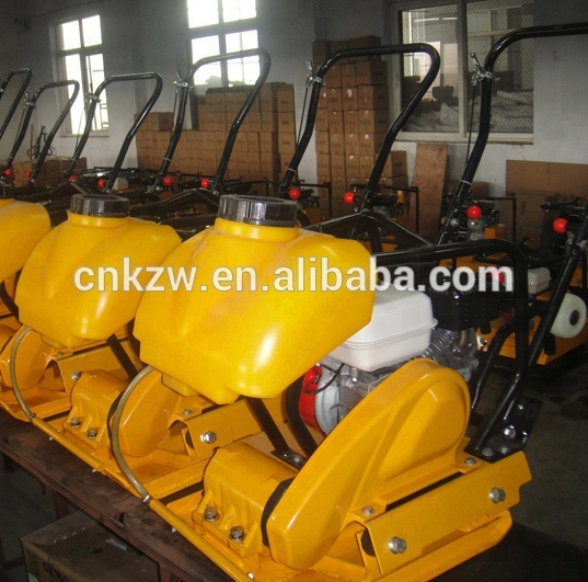 road paving machine vibrating plate compactor