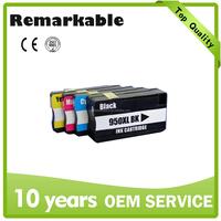 Wholesales Printer ink cartridge for HP 950XL 951XL Compatible ink cartridge 950XL 951XL