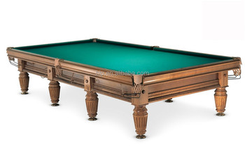 Superior Solid Wood Russian Pyramid Billiard Table For