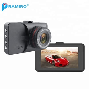 Metal Case Auto Record Car Camera T619 120 Degree Wide Angle Car Safety Data Camera 3 Inch Screen HD Car Safety Data Camera