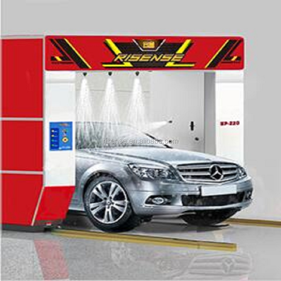 automatic touch free car wash machine system for cleaning manufacturer factory HP210