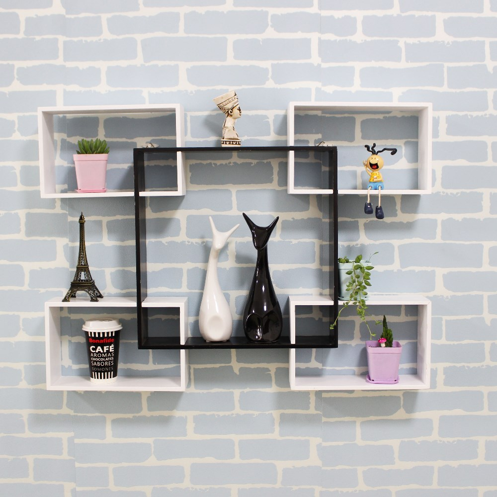 High Quality Wooden Rack Luxury Living Room Show Pieces For Home Decoration