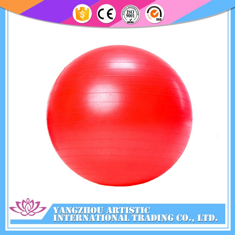 Hot Selling colorful ECO-friendly PVC massage balance gym ball and customize massage yoga ball