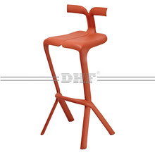 Modern Adjustable Plastic Bar Stool Chair