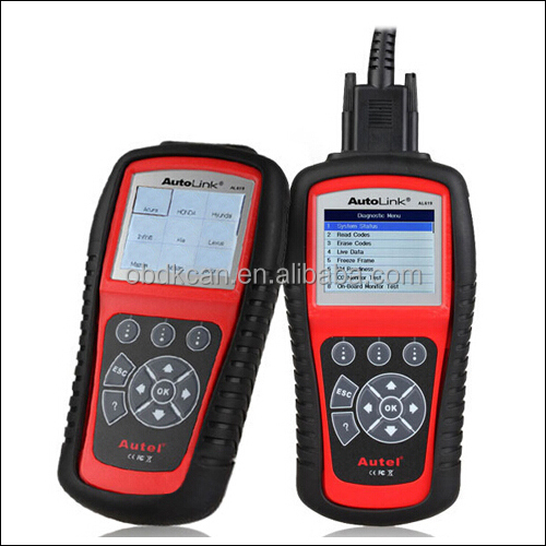 2017 New Original Autel Autolink AL619 ABS/SRS/Airbag Reset+CAN OBDII Diagnostic Scan Tool Turn off Check Engine Light DTC Clear