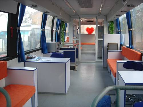 Manufacturer Medical Bus Blood Donator Vehicle With