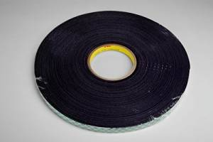 "3M (4056-3/4""x-36yd) Double Coated Urethane Foam Tape 4056 Black, 3/4 in x 36 yd 1/16 in [You are purchasing the Min order quantity which is 12 Rolls]"