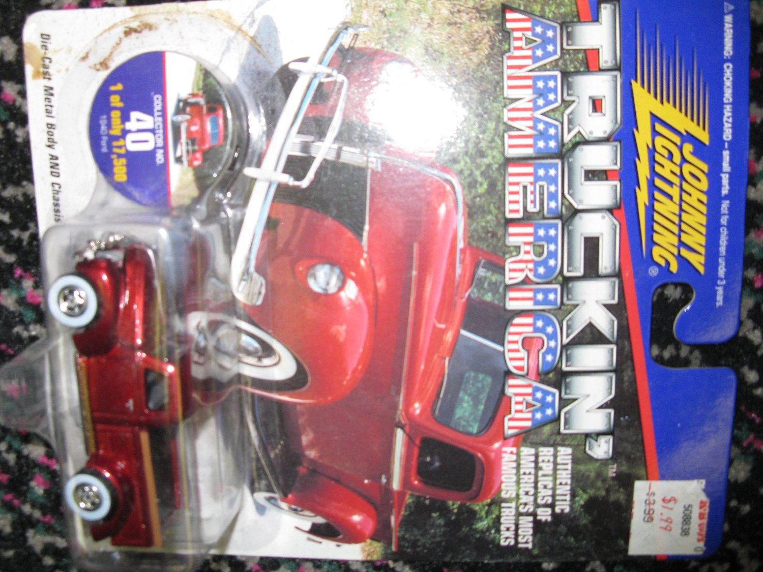 Johnny Lightning Truckin America 1940 Ford Truck Limited Edition 1 of 17500 #40
