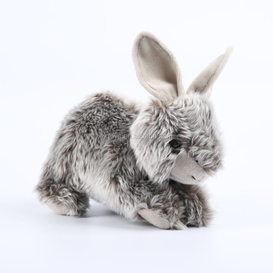 Cute Soft Bunny Stuffed Animal Grey Rabbit Plush Doll Toys Buy