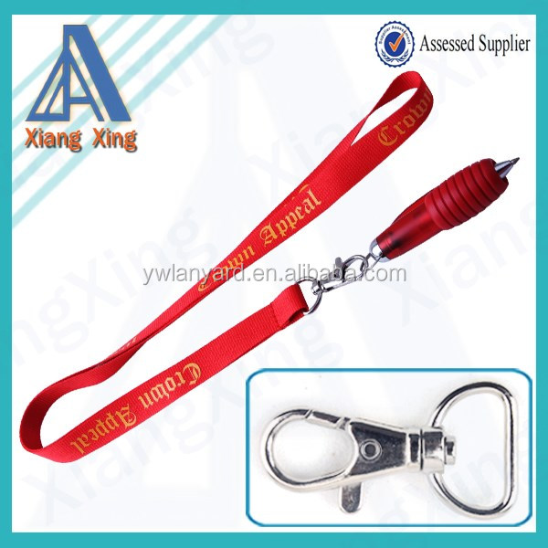 Cheap sublimation blank lanyards free sample made in china merchandise
