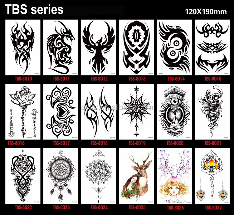 b16def78d Massal Pria Totem Stiker Temporary Tattoo Tribal - Buy Tattoo Tribal ...