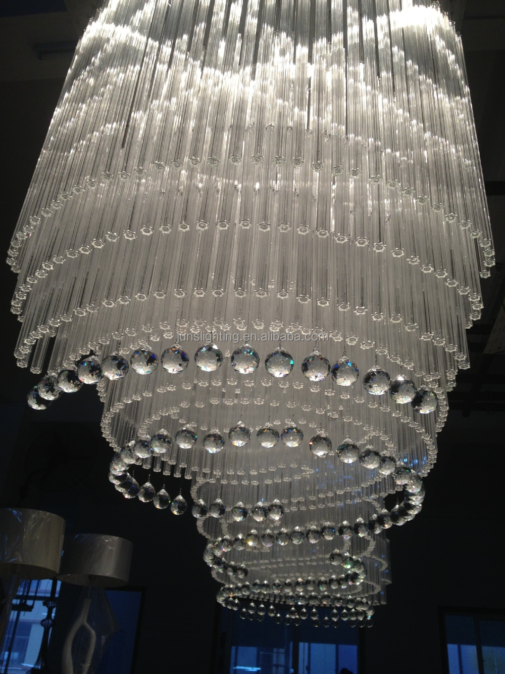 large by chandeliers product windsor crystal royale empire glow chandelier lighting