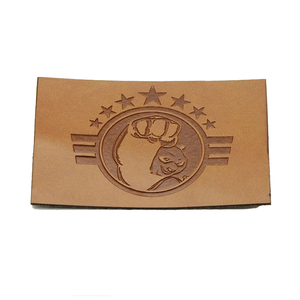 Shoulder Bag Style Embossed Technics Private Cow leather PU Label