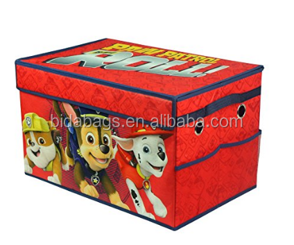 Paw Patrol Foldable Canvas Toy Box