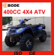 New 4x4 400cc ATV Motorcycle ATV with 4 WHEEL