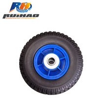 China Supplier With Steel/Plastic Rim Wheel Barrow Tire 250-4