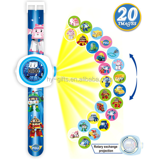 3d cartoon led child watch fashion promotion led digital kids watch for girls