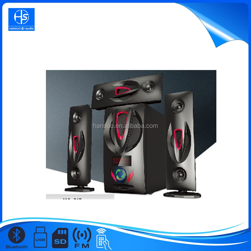 Unique Design 3 1 Home Theater Speaker System With
