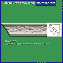 Green Building Material PVC ceiling cornice