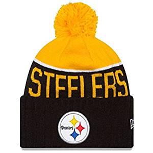 ... 2014 New Era On-Field Sport Knit Sideline Winter Hat Beani US  24.95. Pittsburgh  Steelers 2015 On-Field Pom Knit-10175 3ad432b1b