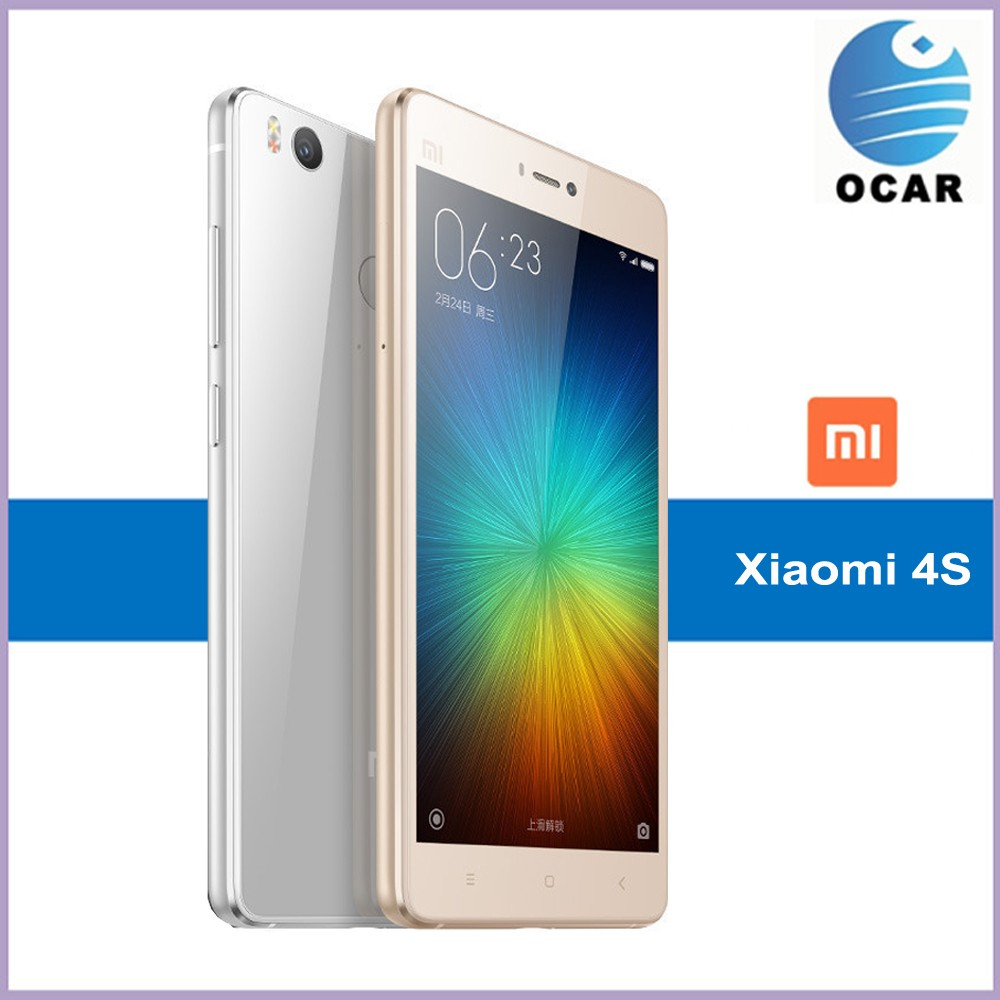 5 inch touch screen dual sim card Snapdragon 808 original xiaomi mi 4s 64gb mobile phone