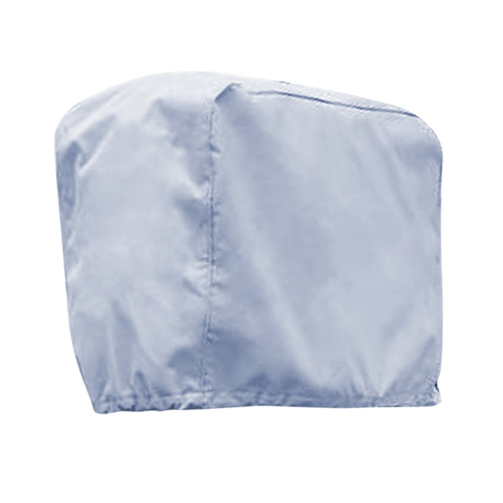 Dolity Trailerable Outboard Boat Motor Engine Cover 2-300 Horsepower - Gray Heavy Duty Water, Mildew, and UV Resistant