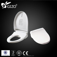 Soft close resin automatic hygienic toilet seat