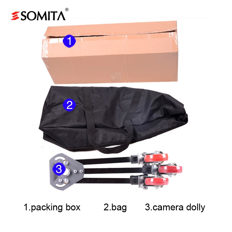 SOMITA ST-301 new photographic tripod dolly ,orbit dolly