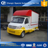 dongfeng cheapest gasoline 4x2 mobile street food truck