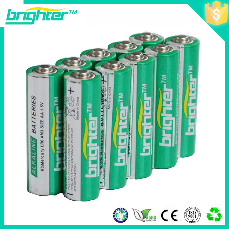 Hot Sale 1.5v aa alkaline battery lr6 all model battery for mobile phone