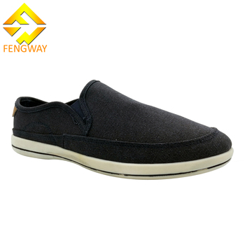 2020 Mens Blank Canvas No Lace Shoes