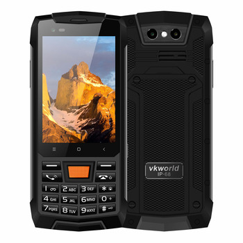 VKWORLD VK4000 IP68 Rugged smartphones android8.1 3.5inch phone 4G mobile phone CDMA/LTD Mobile Phone