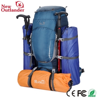 Hot Style Backpack Blue And Yellow Hiking Backpack Wholesale Used ...