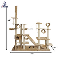 Wholesale Sisal Kitten Play House And Indoor Cat House For Wooden Cat House