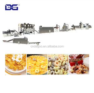 New style cereal food flaker machine fruit ring processing line
