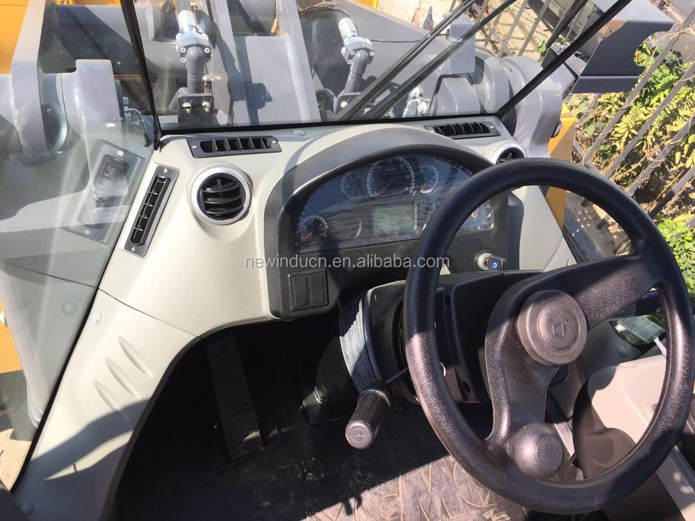 5 tons LW500KN wheel loader with 3 cbm bucket for sale