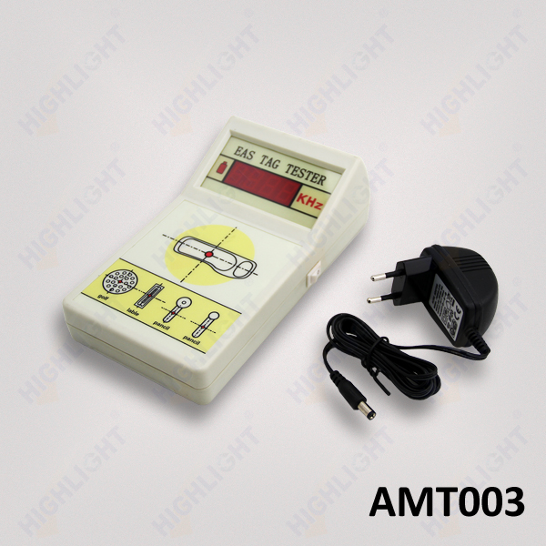 AMT 003 AM EAS hard tag power adapter 230 v EAS 58 khz electronic detector tester