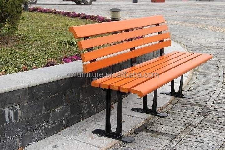 Recycled Plastic New Contour Park Bench